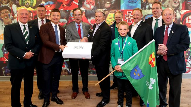 Ireland Formally Delivers Its Bid To Host A Rugby World Cup 'Like No Other'