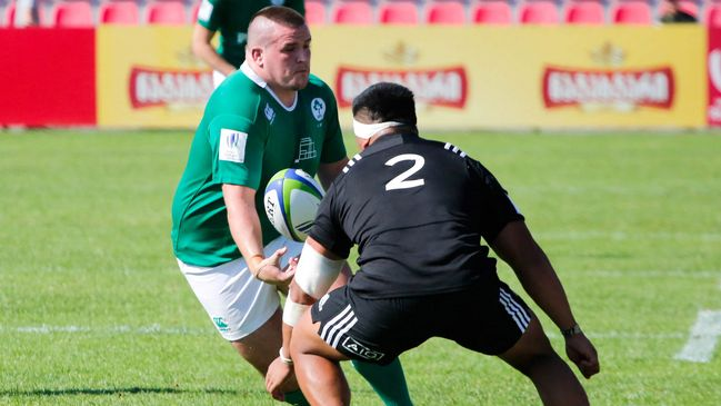 Ireland Under-20 prop Charlie Connolly