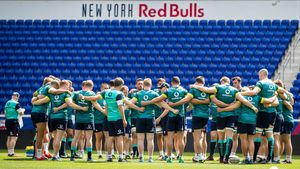 Ireland Captain's Run Session At Red Bull Arena, New Jersey, Friday, June 9, 2017