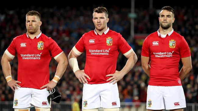O'Mahony To Lead Lions Against Maori All Blacks