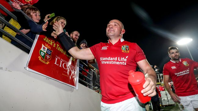 Ireland captain Rory Best will lead the Lions on Tuesday