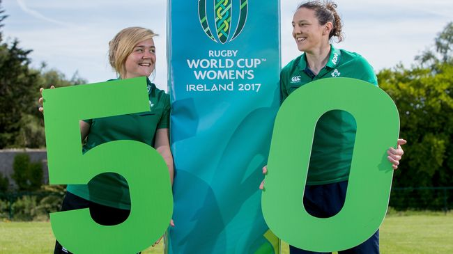 Women's Rugby World Cup 2017 - 50 Days To Go!