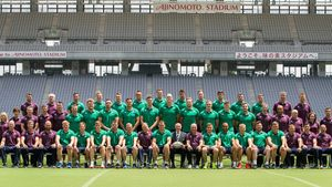 Ireland Captain's Run Session At Ajinomoto Stadium, Chofu, Tokyo, Japan, Friday, June 23, 2017