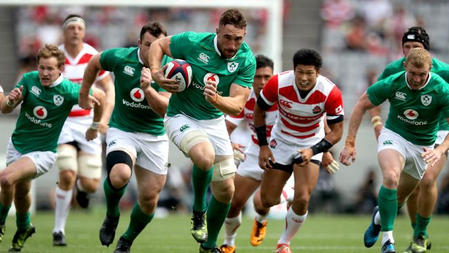 Ireland Team Camps Confirmed For RWC 2019 In Japan