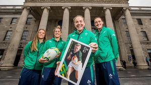 Unveiling Of 2017 Women's Rugby World Cup Postage Stamp, GPO, O'Connell Street, Dublin, Thursday, July 13, 2017