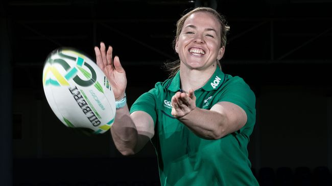 In Pics: Ireland Women's Squad Announcement For #WRWC2017