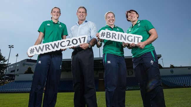 Ireland Squad Named For Women's Rugby World Cup