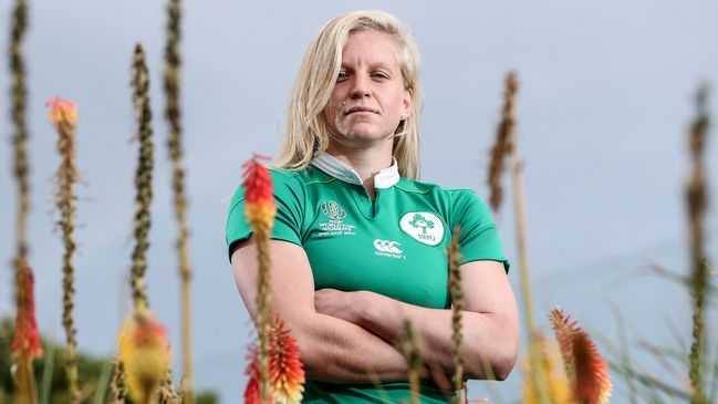 Ireland WRWC 2017 captain Claire Molloy