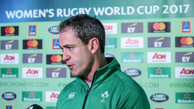 Irish Rugby TV: Tom Tierney On Ireland's WRWC 2017 Campaign