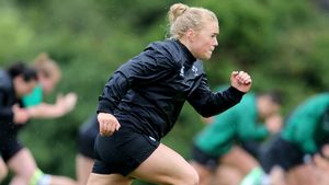 Ireland Women's Squad Training At UCD Ahead Of WRWC 2017, Sunday, August 6, 2017