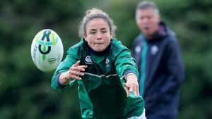 Ireland Women's Captain's Run Session At UCD Ahead Of Australia Match, Tuesday, August 8, 2017