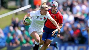 WRWC 2017: England Women 56 Spain Women 5, UCD Bowl, Wednesday, August 9, 2017