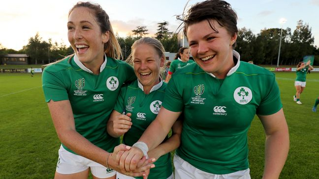 Nicole Cronin pictured with Eimear Considine and Ciara Griffin