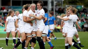 WRWC 2017: England Women 56 Italy Women 13, Billings Park, UCD, Sunday, August 13, 2017