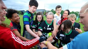 Disability Tag Rugby At WRWC 2017 'Spirit Of Rugby' Day, UCD, Dublin, Monday, August 14, 2017