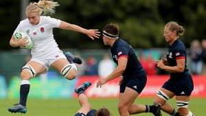 WRWC 2017: England Women 47 USA Women 26, Billings Park, UCD, Thursday, August 17, 2017