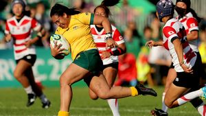 WRWC 2017: Australia Women 29 Japan Women 15, Billings Park, UCD, Thursday, August 17, 2017