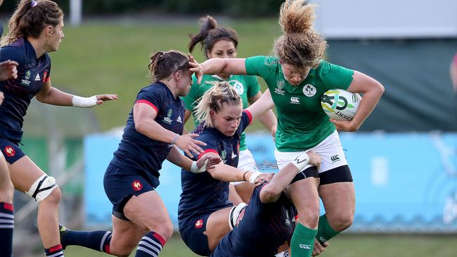 WRWC 2017 Video Highlights: France Women 21 Ireland Women 5