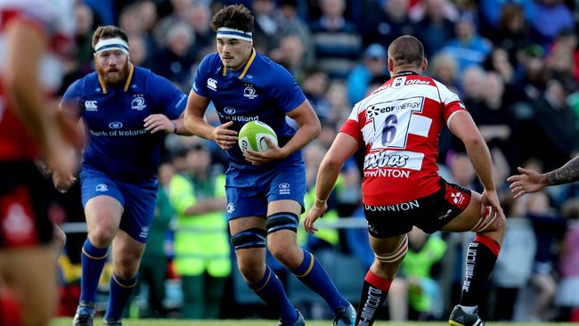 Deegan And Larmour Bag Braces In 50-Point Win For Leinster