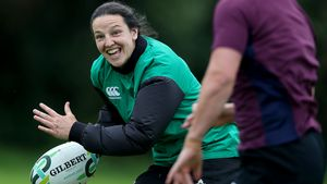 Ireland Women's Squad Training At Queen's University, Belfast, Sunday, August 20, 2017