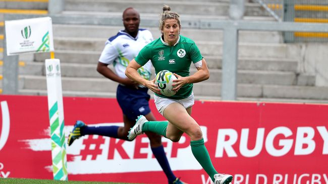 WRWC 2017 Video Highlights: Ireland Women 24 Australia Women 36