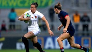 WRWC 2017 Semi-Final: England Women 20 France Women 3, Kingspan Stadium, Tuesday, August 22, 2017