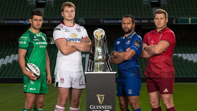In Pics: GUINNESS PRO14 Launch At Aviva Stadium