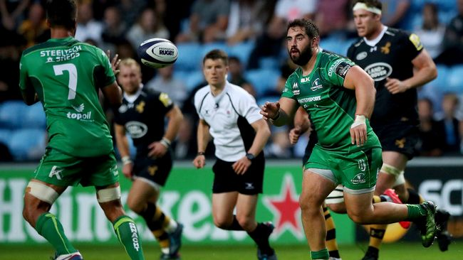 McCabe And Gallagher To Start Up Front For Connacht