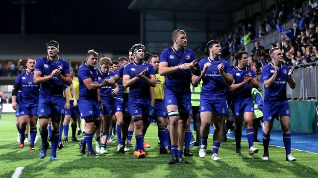 Leinster defeated Bath at Donnybrook last August