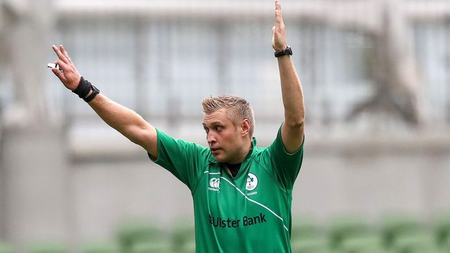 Irish Referees On Duty In Europe And B&I Cup