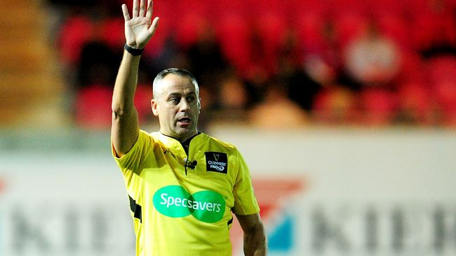 Lacey And Berry To Referee GUINNESS PRO14 Semi-Finals