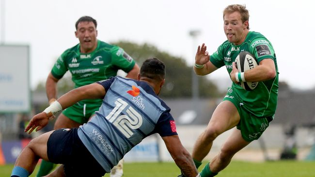 Marmion To Make 100th Championship Appearance For Connacht