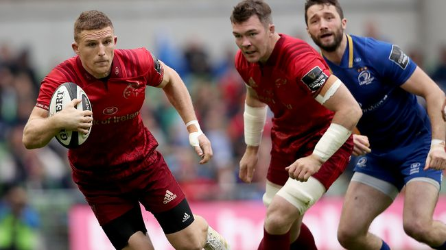 Conway Among The Changes For Munster