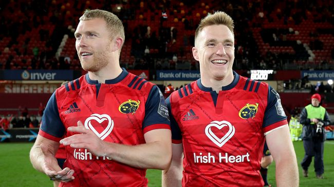 Earls, Kleyn And Rory Scannell Nominated For Munster Player Of The Year Award