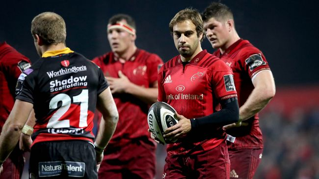 Arnold And Hart Come In As Munster's Only Changes