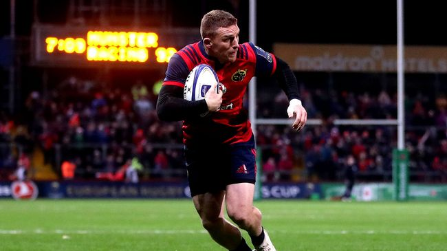 Conway To Remain In Munster Red, While Fitzgerald Extends Development Deal