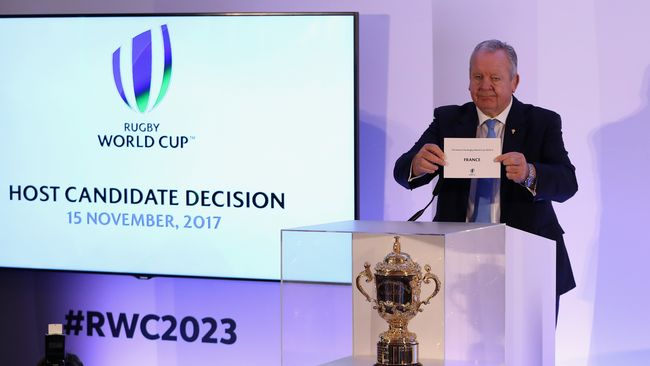 France Win Vote To Host 2023 Rugby World Cup