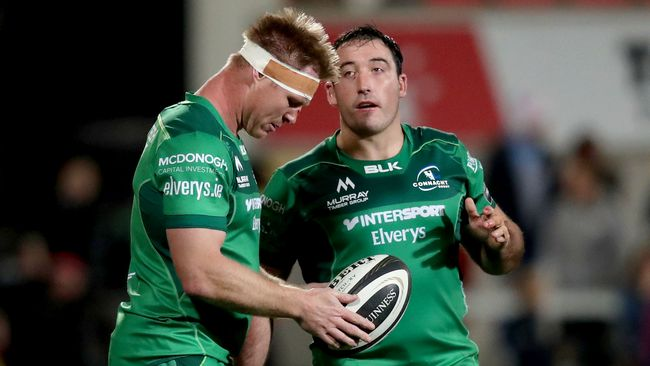 Butler And Buckley Back In Connacht Team