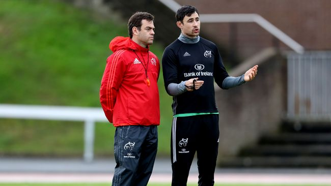 Munster Step Up Preparations For PRO14 Trip To Parma