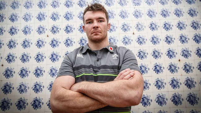 Munster and Ireland's Peter O'Mahony