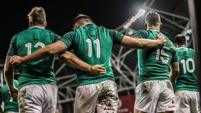 Ireland won all three of their GUINNESS Series games