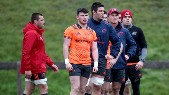 Earls And Nash Named In Munster's Back-Line For Belfast