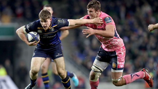 Garry Ringrose in action against Exeter last month