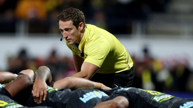 Brace Leads List Of IRFU Referee Appointments For November Tests