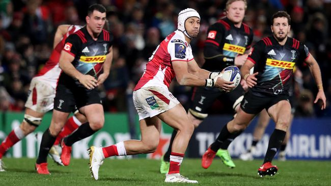 Christian Lealiifano in Champions Cup action for Ulster