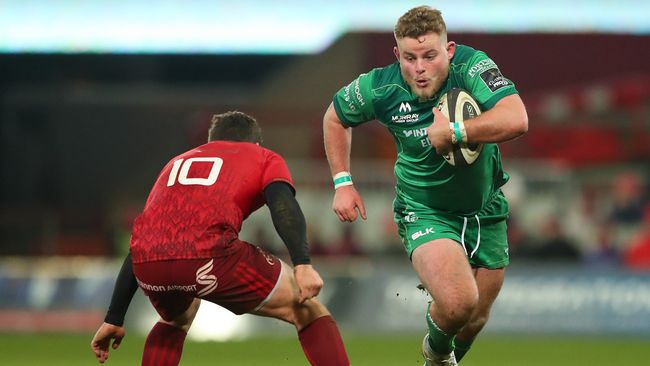 Ton-Up For Bealham As Connacht Aim For Eighth Straight Home Win