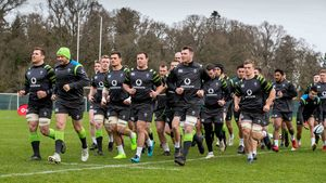 Ireland Squad Training At Carton House, Maynooth, Co. Kildare, Tuesday, January 30, 2018