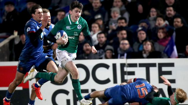 Hosts France First Up For Ireland At World Rugby U-20 Championship