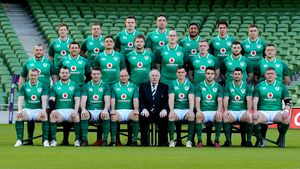 Ireland Captain's Run Session At The Aviva Stadium, Dublin, Friday, February 9, 2018