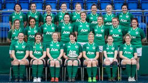 Ireland Women's Captain Run Session At Donnybrook, Dublin, Saturday, February 10, 2018